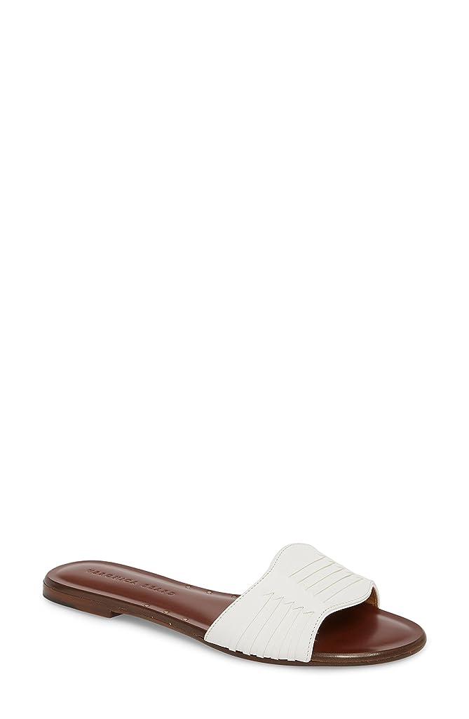 電池症候群専らヴェロニカ ベアード レディース サンダル Veronica Beard Faven Woven Slide Sandal [並行輸入品]