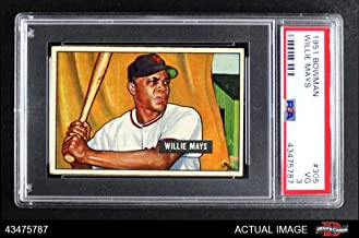 Best 1951 bowman willie mays Reviews