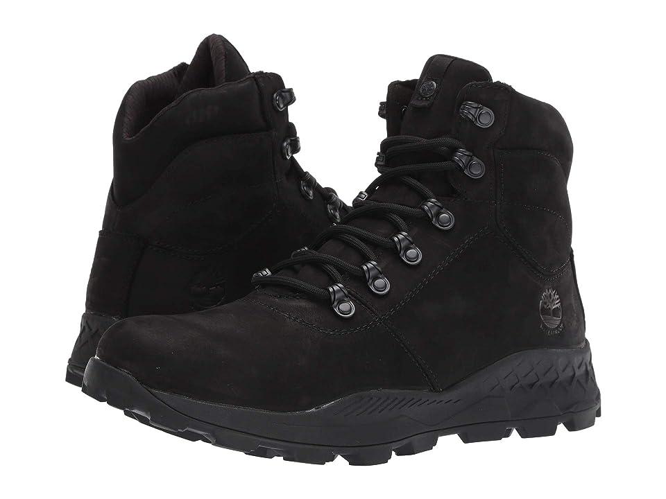Timberland Brooklyn Waterproof Mid Hiker (Black Nubuck) Men