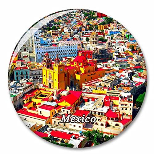 México Guanajuato Imán de Nevera, imánes Decorativo, abridor de Botellas, Ciudad turística, Viaje, colección de Recuerdos, Regalo, Pegatina Fuerte para Nevera