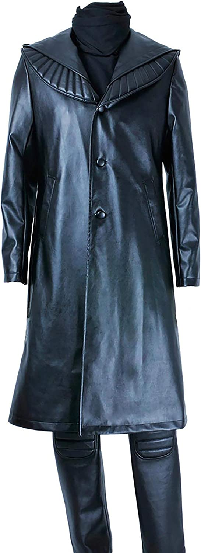 VINFA Star Trek Cosplay Khan Full Set Challenge Translated the lowest price Costume Outfit Black