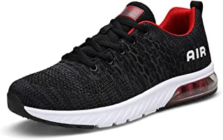Alinb Shoes Women's and Men's Air Cushion Sneakers Sports Trail Running Shoes