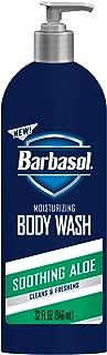 Barbasol Body Wash, Aloe, 32 Fluid Ounce (6 Pack)