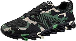 Waymine Men's Sneakers Lightweight Camouflage Comfortable Breathable Mesh Non-Slip Walking Running Shoes Sport Shoes Basketball Shoes