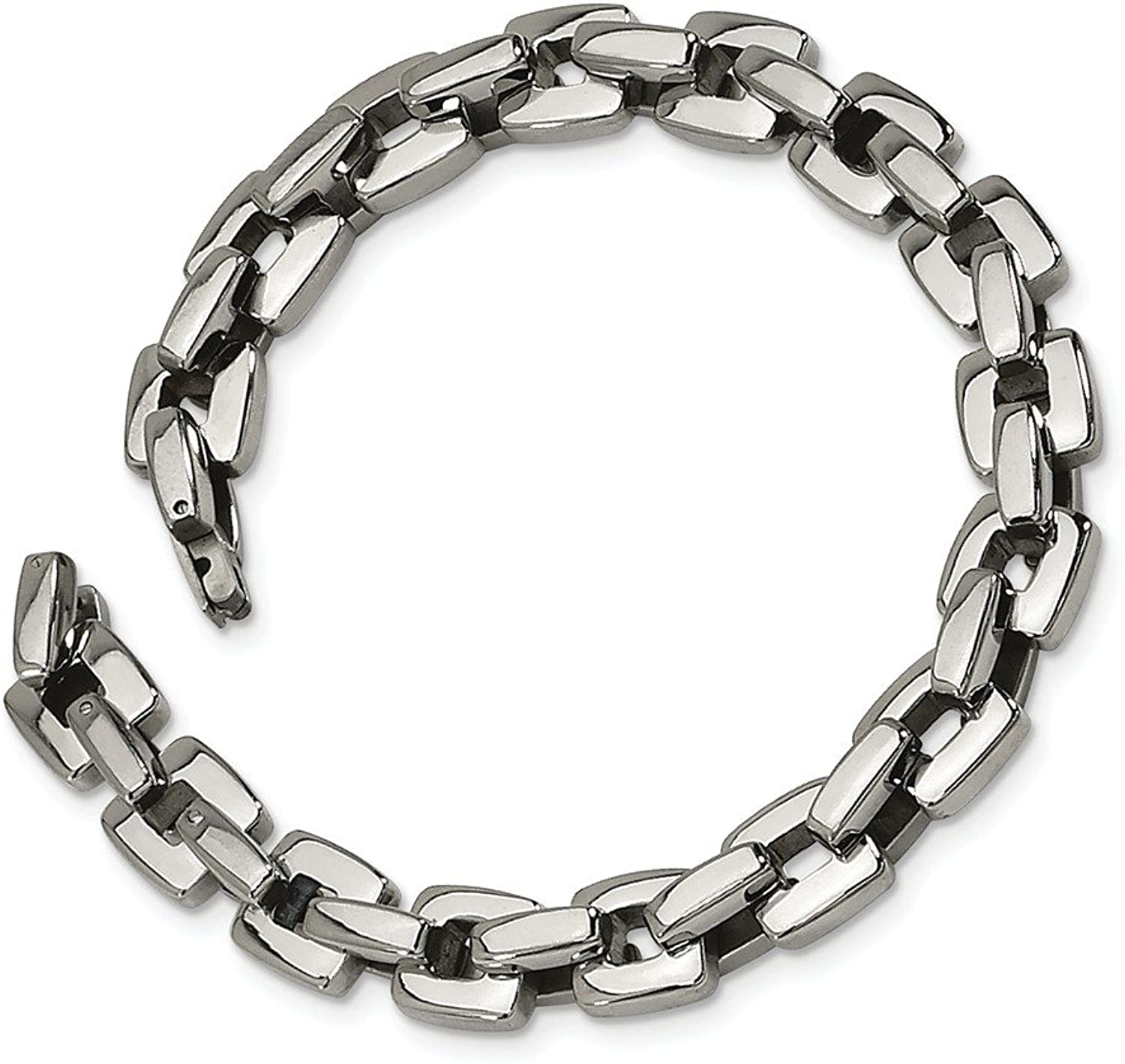 Beautiful Stainless Steel Polished 9in Bracelet