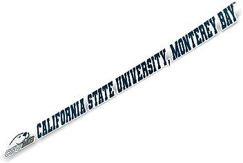 California Cal State University Monterey Bay CSUMB Otters NCAA Car Keys ID Badge Holder Lanyard Keychain Detachable Breakaway Snap Buckle