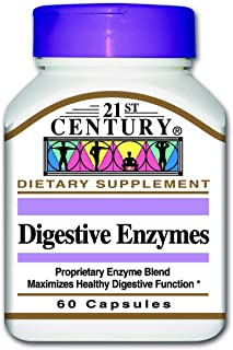 21st Century Digestive Enzyme - 60 Capsules
