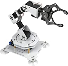 LewanSoul 6DOF Robot Arm STEAM Robot Scratch Arduino Programming with Bus Servo,Wireless/Wired Mouse/Mobile Phone Control(Assembled)