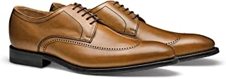 man leather shoes made in italy