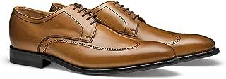 The Jamison: Men's Premium Leather Wingtip Formal Dress Shoe