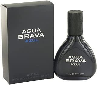Antonio Puig Agua Brava Azul Eau De Toilette Spray 3.4 oz for Men