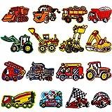 18 Stück Bügelflicken Kinder,Patch Sticker Kinder Cars,Aufnäher Kinder Jungen,Flicken Zum Aufbügeln Kinder,Bügelbilder Aufbügelflicken,Aufbügelflicken Kinder,Applikation Flicken Zum Aufbügeln