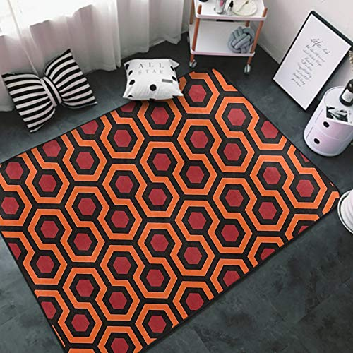 NiYoung Luxury Modern Classic Thick Soft Overlook Hotel Carpet The Shining Area Rug for Living Room Bedroom Playroom Dormitory Home Decor Non-Slip Carpet Large Floor Mat (Size 5 x 3 Feet)