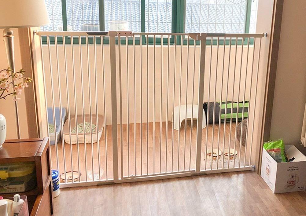 Barrera de Seguridad Barrera de Seguridad para Mascotas Extra High Pressure Fit, 100cm Extra Tall |Puerta Abierta/Abierta Bidireccional Exclusiva De 90 °, Puerta De Cierre Automático para Perros PUE: Amazon.es: Hogar