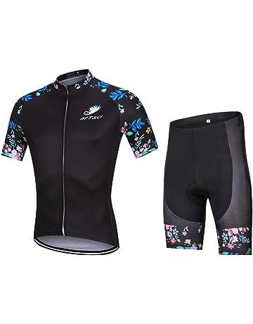 c99e72f9577841 サイクルジャージ 半袖 上下セット メンズ レディース サイクルウェア 春夏用 ロードバイクウェア サイクリング