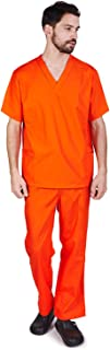 Men Scrub Set Medical Scrub Top and Pants (XS to 3XL)