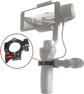 DJI Osmo Mobile 1&2対応O型リングホットシューアダプターは、2つのコールドシューマウントを介して、RODE VIDEOマイク、補助光LEDライト、またはその他のアクセサリーに接続できます。 ミニ三脚が付属しています。 スーパークール。