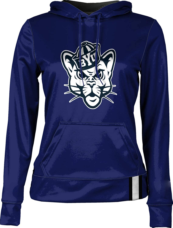 Brigham Young University Girls' Pullover Hoodie, School Spirit Sweatshirt (Solid)