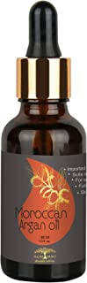 All Naturals Argan Oil - Cold Pressed (Imported From Morocco) Pure & Undiluted Carrier Oil For Hairfall, Ha...