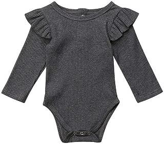 OVINEE KinderJungen M/ädchen Jumpsuit Neugeborenes Baby-Karikatur-Kuh-Spielanzug-Overall-Kleidungs-Ausstattungen er Baby Jumpsuit Cartoon Kinderkombination Pyjamas warme Kleidung
