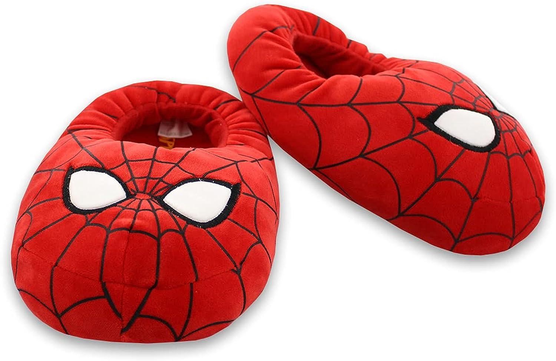 Marvel Avengers Kids Toddler Plush Mooshy Slippers