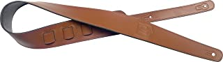 James Neligan JN-ST LEA BRW Guitar Strap