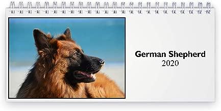 German Shepherd 2020 Desk Calendar