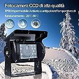 Zoom IMG-1 telecamera retromarcia per auto furgone