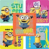 SmileMakers Minions Patient Stickers - Prizes and Giveaways - 100 per Pack