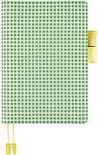 Hobonichi Techo Cousin Book & Cover Set [Japanese/A5/Jan 2021 Start] Apple Green Gingham