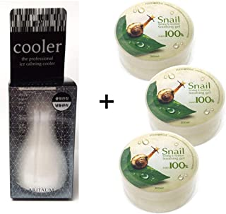 [Aritaum] Ice Calming Cooler 1EA + Snail Soothing gel 3EA / For Face Body Cool Frozen/skin massage