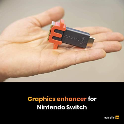 Upgrade Your Nintendo Switch and Retro Game Consoles with mClassic Graphics Enhancer for Real-Time Image Sharpening, ...