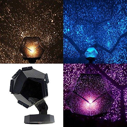 Romantic Astro Planetarium Star Celestial Proyector Cosmos Luz Nocturna Sky Lampara [Papa de la pared]