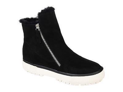 Journee Collection Comfort Foamtm Jezzy Wedge Bootie (Black) Women