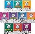 Large Print Merriam-Webster Puzzles 10 Booklet Set