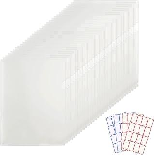 حافظة ملفات بلاستيكية شفافة من النوع L، قابلة للنسخ من جيوب متعددة الأغراض بحجم A4 مجلدات مظاريف بولي مع لوازم مدرسية مكتب...