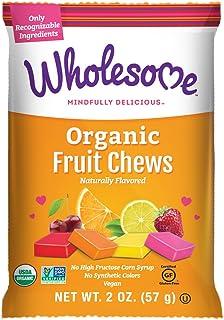 Wholesome Organic Fruit Chews, Gluten Free, Vegan 12 ct. 2 oz.