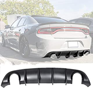 Meyffon Rear Lip Bumper Diffuser Fits 2015-2020 Dodge...