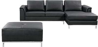Amazon.com: Exelero Loveseat 2 Seater Sofa, Burnt Umber ...