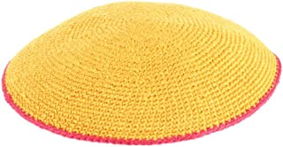 yellow kippah