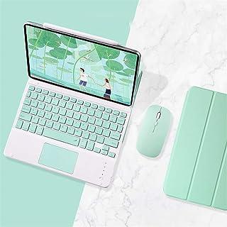磁気吸着式 2020 アイパッド10.9インチキーボード ケース タッチパッド付き iPad Air4キーボード ケース 第4世代 可愛い お洒落 分離式キーボード 磁石 カバー 超薄型 軽量 2020 アイパッドエア4 キーボード付き カバー...