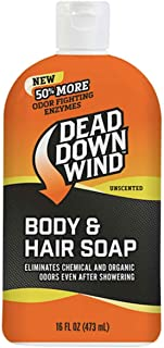 Dead Down Wind Body & Hair Soap 16 oz - Unscented - Hunting Scent Eliminators