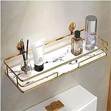 Drijvende planken voor muur decoratieve opslagplanken wandgemonteerde opslagplanken met metalen frame voor badkamer Keuken...