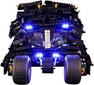 Vonado Led Light Set for Lego 76023 Super Heroes Batman The Tumbler Batmobile Blocks Technic Building Blocks Bricks Toys Gift to Friends Adult Boys and Girls Festival(Only Lights)