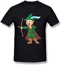 WunoD Men's Robin Hood Cartoon T-shirt