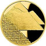 Power Coin Great Pyramid of Giza Siete Maravillas Seven Wonders of The Ancient World 1 Oz Moneda Oro 50$ Niue 2021