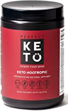 Perfect Keto Nootropic Brain Supplement: Enhance Focus and Energy, Boost Concentration, Improve Memory and Clarity for Men and Women - L-theanine, Ginkgo Biloba, Cat's Claw, Alpha Lipoic Acid and GPC