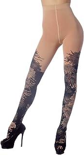 iB-iP Damen Fairview Daisy nahtlose stilvolle Hohe Taille Strumpfhosen