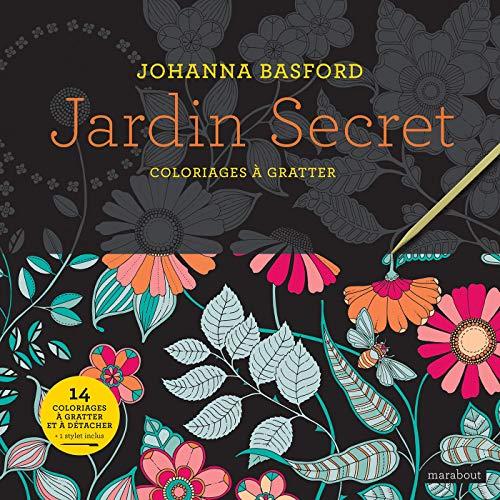 Jardin Secret - Coloriages à gratter