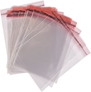 500 x A4 Bolsas De Celofan Transparente Autoadhesivo Sello Con Solapa Peel & Seal Bolsas Multi Tamaños, 21.5cm x 30cm
